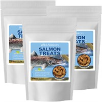 3-pack Wild Alaskan Salmon Treats (24 Oz) Picture