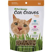Pet Greens Semi-Moist Cat Treats Roasted Chicken (3 oz)