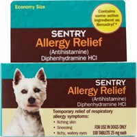 SENTRY® Allergy Relief Tabs for Dogs (100 count)