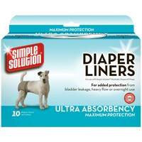 Simple Solution® Diaper Liners - Ultra Absorbency Maximum Protection (10 pack)