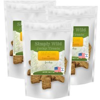 3-PACK Simply Wild Jerky Treats - Chicken with Peas & Carrots (12 oz)
