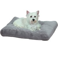 Slumber Pet ThermaPet Burrow Bed Grey - Large