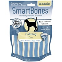 SmartBones Chicken Dog Chews - Calming (16 Sticks)