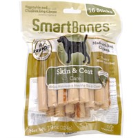 SmartBones® Chicken Dog Chews - Skin & Coat (16 Sticks)