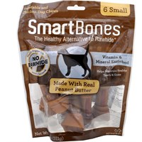 SmartBones Small Peanut Butter Chews (6 pack)