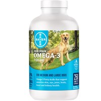 NEW! Free Form Snip Tips Omega-3 for Medium/Large Dogs (250 capsules)