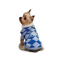 Dog Suppliesapparelsweaterseast Side Collection Blue Snowflake Snuggler