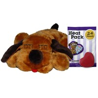 Anxiety Guaranteed Solution - Snuggle Puppy - Brown