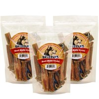 3-PACK Spizzles™ Beef Bully Sticks (24 oz)