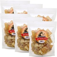 6-PACK Spizzles Beef Trachea Chips (48 oz)