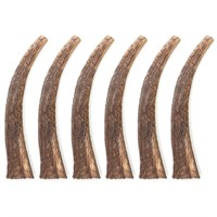 6-PACK Spizzles Elk Antler Dog Chew - Solid (Large)