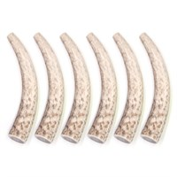 6-PACK Spizzles Elk Antler Dog Chew - Solid (Medium)