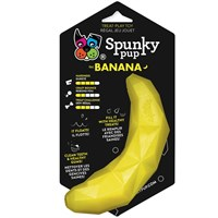 Spunky Pup Treat Holding Play Toy - Banana
