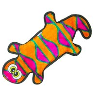 Outward Hound Invincibles 4 Squeak Gecko - Orange