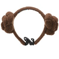 Star Wars™ Princess Leia™ Buns Dog Headpiece - Small/Medium