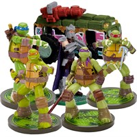 Teenage Mutant Ninja Turtles, Shedder & Van Aquarium Ornament Set