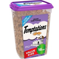 Whiskas Temptations Treats for Cats - Creamy Dairy Flavor (16 oz)