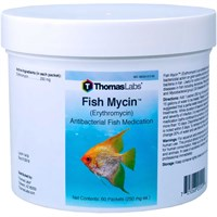 Thomas Labs Fish Mycin 250mg - Erythromycin Powder (60 packets)