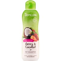 Tropiclean Deep Cleaning Berry & Coconut Shampoo (20 fl oz)