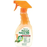 Tropiclean Natural Flea & Tick Spray for Dogs & Bedding (16 fl oz)