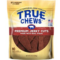 True Chews Premium Jerky Cuts - Sirloin Steak Filets (22 oz)