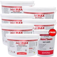 6-PACK Joint MAX® Triple Strength Soft Chews (1440 Chews) + FREE Joint Treats® Minis