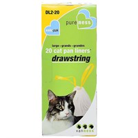Van Ness Drawstring Cat Pan Liners - Large (20 Pack)