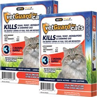 Dog Suppliesflea & Tick Suppliestopicalsvetguard & Vetguard Plus For Dogs & Cats