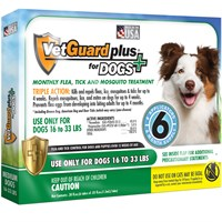VetGuard Plus for Medium Dogs - 6 Month Supply (16-33 lbs)