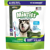 VetIQ Minties Dental Treats - Large 6 oz (4 count)