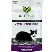 VetriScience Vetri Lysine Plus (90 Bite-Sized Chews)