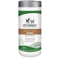Vet's Best Flea + Tick Wipes (50 count)