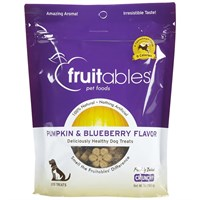 Fruitables Dog Treats Pumpkin & Blueberry (7 oz)