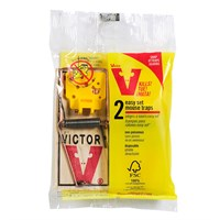 Victorpest Easy Set Mouse Trap (2 pack)