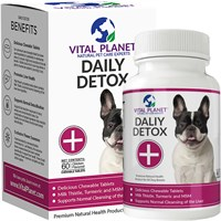Vital Planet Daily Detox (60 Chewable Tablets)