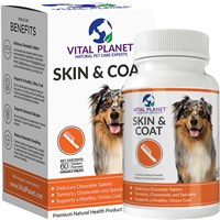 Vital Planet Skin & Coat (60 Chewable Tablets)