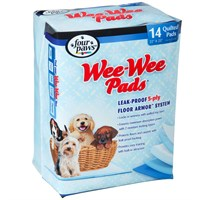 Four Paws Wee-Wee Pads X-Large (14 pads)