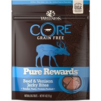 Wellness Core Pure Rewards - Beef & Venison Jerky Bites (4 oz)