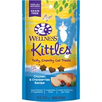 Wellness Kittles Chicken & Cranberries Cat Treats (2 oz)