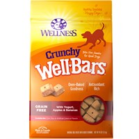Wellness WellBars Dog Treats - Yogurt, Apples and Banana (50 oz)
