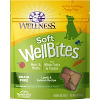 Wellness Soft Wellbites Lamb & Salmon Dog Treats (6 oz)