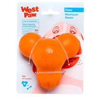 West Paw Tux Tough Dog Chew Toy - Large (Tangerine)