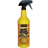 Pyranha Wipe N' Spray for Horses (32 oz)