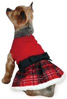 Dog Suppliesapparelsweaterseast Side Collection Yuletide Tartan Party Dress