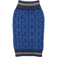 Zack & Zoey Elements Geometric Sweater - Blue (XLarge)