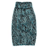 Zack & Zoey Elements Hairy Yarn Sweater - Blue (Large)