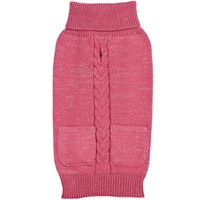 Zack & Zoey Elements Metallic Sweater - Pink (Large)