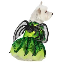 Zack & Zoey Neon Spider Princess Costume - Large
