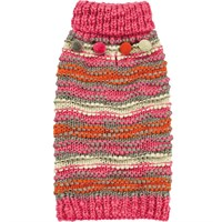 Zack & Zoey Elements Chunky Pompom Sweater - XSmall