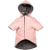 Zack & Zoey Elements Quilted Hearts Jacket - Pink (XLarge)